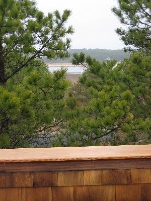 So.Wellfleet Cape Cod vacation rental - View of bay from third floor deck of Tree House in S. Wellfleet