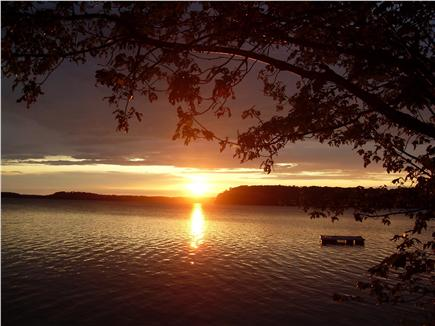 Harwich Cape Cod vacation rental - Beautiful sunsets from the deeded beach