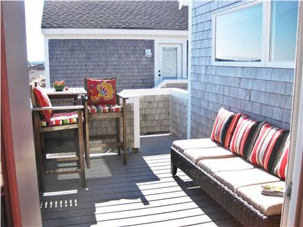 North Truro Cape Cod vacation rental - Relax on Chaise Lounge. Great views of Pilgrim Lake & Dunes!