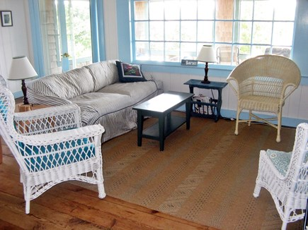Wellfleet Cape Cod vacation rental - Living area