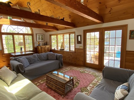 Popponessett / Mashpee Cape Cod vacation rental - Great Room: Lots of light and seating
