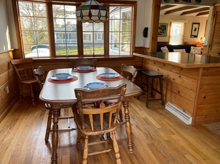 Popponessett / Mashpee Cape Cod vacation rental - Dining Area: Table expands from 4-8 people