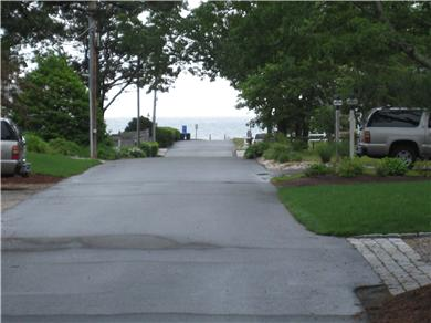 Mashpee Cape Cod vacation rental - Ocean View from the front yard
