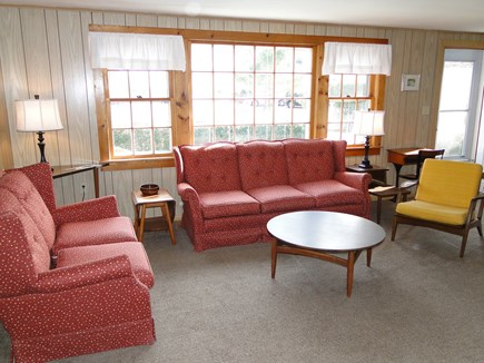 Mashpee Cape Cod vacation rental - View of living room from the kitchen