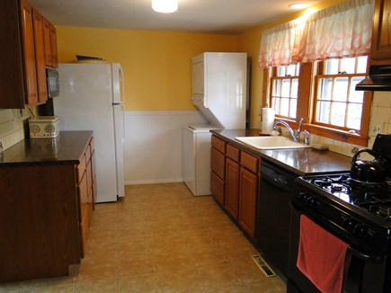 Mashpee Cape Cod vacation rental - Updated kitchen with dishwasher, stove and microwave