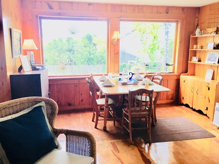 S. Chatham Cape Cod vacation rental - Meal with a view