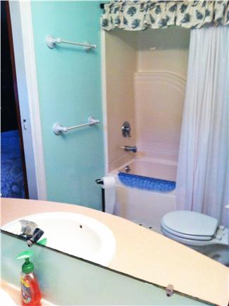 S. Chatham Cape Cod vacation rental - Bath Downstairs. 2nd bath upstairs. Enclosed shower outside.