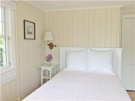 Bedroom with two twins. in a Truro, Beach Point vacation rental Outer Cape Cod