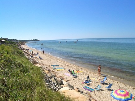 Brewster Cape Cod vacation rental - Popular Ellis Landing Beach is a three-minute walk from the house