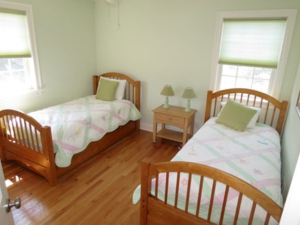 Brewster Cape Cod vacation rental - Twin bedroom upstairs plus trundle under one of the beds