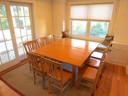 Brewster Cape Cod vacation rental - Dining area expands nicely to accommodate large groups