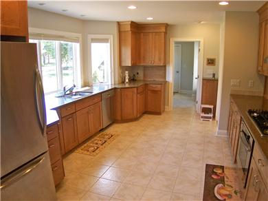 Brewster Cape Cod vacation rental - One of the biggest, brightest, best equipped kitchens ever!