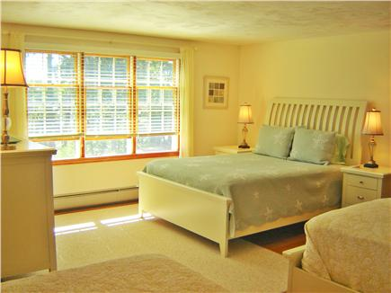 Brewster Cape Cod vacation rental - First bedroom upstairs has a queen bed and 2 twin beds