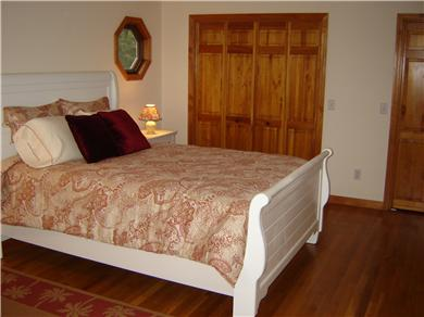 Brewster Cape Cod vacation rental - Second bedroom upstairs has a king bed (new), love-seat, and TV