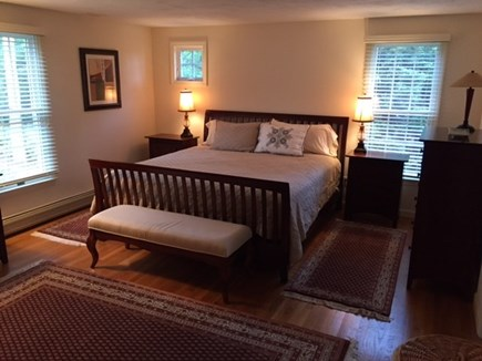 Brewster Cape Cod vacation rental - New King bed in master bedroom