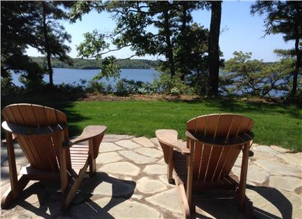 Brewster Cape Cod vacation rental - Water view from backyard