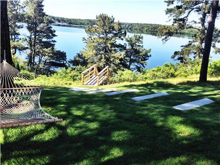 Brewster Cape Cod vacation rental - Hammock in back yard