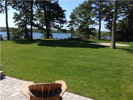 Brewster Cape Cod vacation rental - High quality lawn with patios