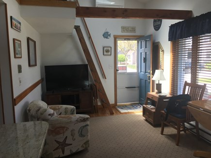 Chatham Cape Cod vacation rental - Livingroom area with ladder to loft