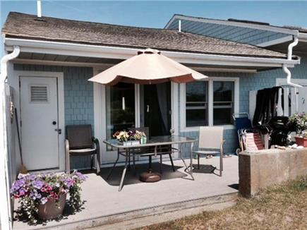 Chatham Cape Cod vacation rental - Rear Deck