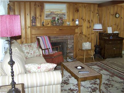 Brewster Cape Cod vacation rental - Cozy living room with new couch and loveseat