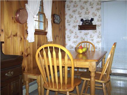 Brewster Cape Cod vacation rental - Bright spacious dining area seats 6