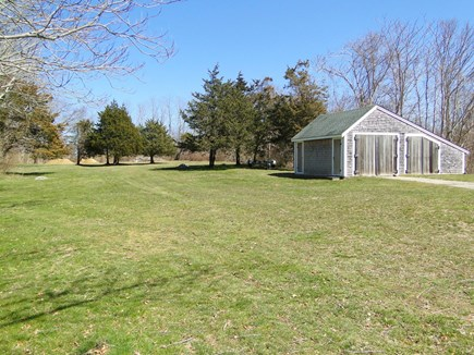 Dennis Cape Cod vacation rental - House sits on 2 3/4 acres - lots of space to play in!