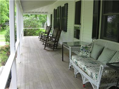 Dennis Cape Cod vacation rental - Huge front porch