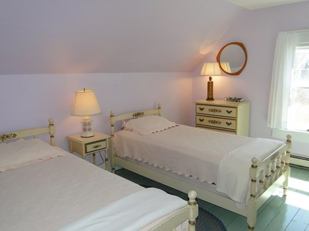 Dennis Cape Cod vacation rental - Purple twin bedroom upstairs