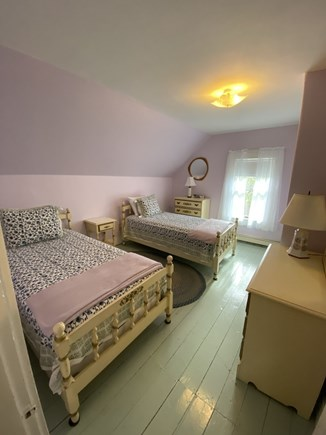 Dennis Cape Cod vacation rental - Purple twin bedroom (1of 3 twin rooms)