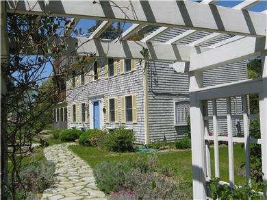 Wellfleet  Cape Cod vacation rental - Through the Arbor-new landscaping and stonework