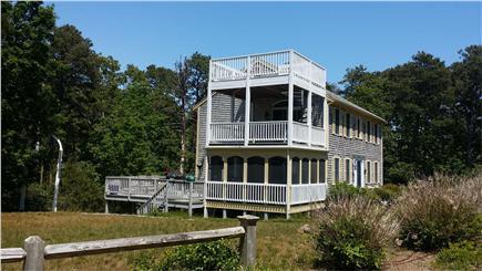 Wellfleet Cape Cod vacation rental - Exterior Porches