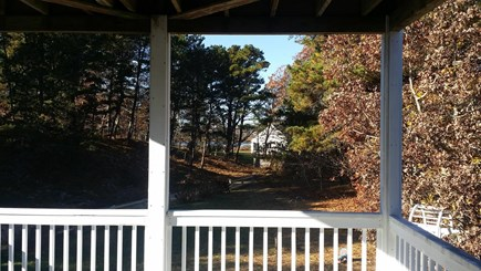 Wellfleet  Cape Cod vacation rental - Peek at water from Master BR deck