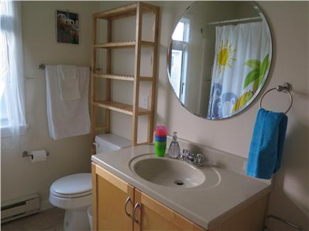 Beach Point, North Truro Cape Cod vacation rental - Plenty of bath shelves, hooks and towels bars