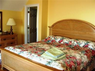 West Yarmouth Cape Cod vacation rental - Master Suite w/jacuzzi tub and private porch