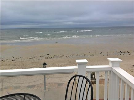 Plymouth, Priscilla Beach MA vacation rental - Beach view from deck