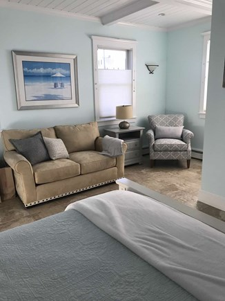 Plymouth, Priscilla Beach MA vacation rental - 1st floor Master sitting area