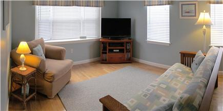 Yarmouth Port Cape Cod vacation rental - Livingroom - Arm Chair - Entertainment Center