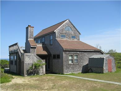 Wellfleet, Oceanfront Nat'l Seashore dune Cape Cod vacation rental - Wellfleet Vacation Rental ID 17711