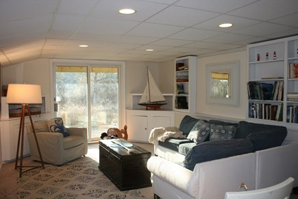 Chatham Cape Cod vacation rental - Game Room Lower Level