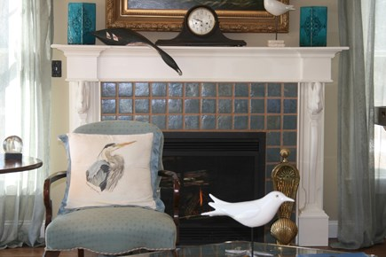 Chatham Cape Cod vacation rental - GAS FIREPLACE