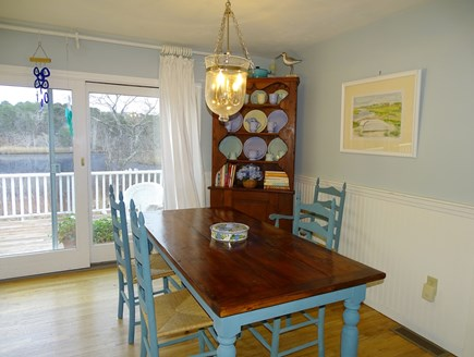 Chatham Cape Cod vacation rental - EAT-IN KITCHEN SEATS 8