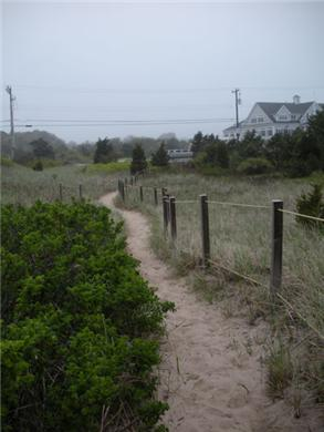 Dennisport Cape Cod vacation rental - Path from Inman Road Beach to Sea View Park