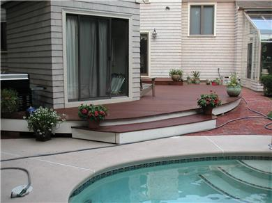 New Seabury New Seabury vacation rental - Pool and deck area