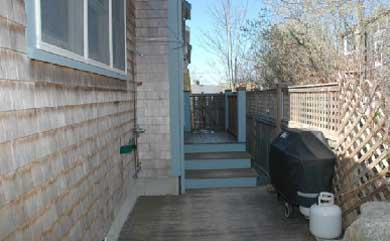 Provincetown Cape Cod vacation rental - Outside Patio with view of gas grill