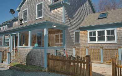 Provincetown Cape Cod vacation rental - Front view of house