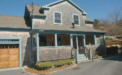 Provincetown Cape Cod vacation rental - Front view of house - different angle