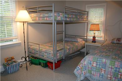 Brewster Cape Cod vacation rental - Upstairs bunkroom