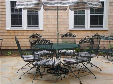 Brewster Cape Cod vacation rental - Stone patio