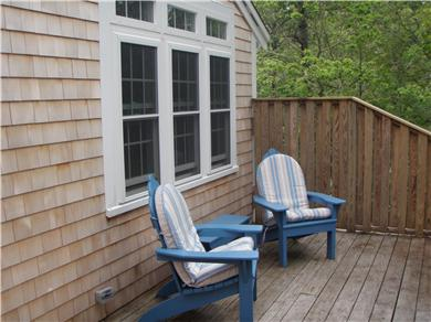 Brewster Cape Cod vacation rental - Front deck